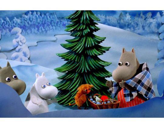 活潑可愛的芬蘭動畫片《嚕嚕米的冬日樂園》即將在大屏幕上映。