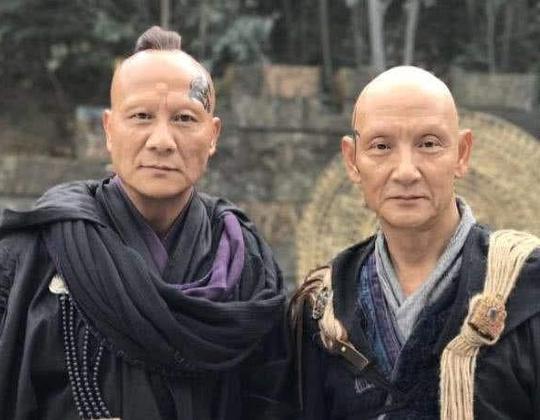 51歲的他再度出演魯智深還是跟23年一樣威武霸氣,西門慶顏值太驚豔