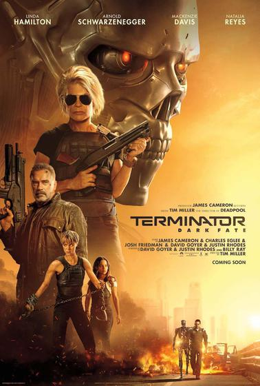 魔鬼終結者:黑暗宿命 Terminator: Dark Fate 海報