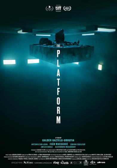 絕命大平臺 The Platform 海報
