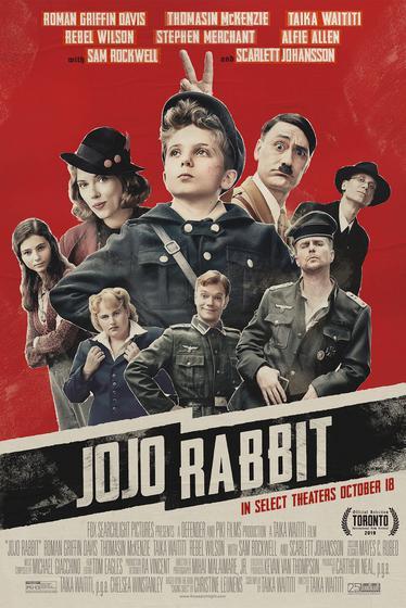 兔嘲男孩 Jojo Rabbit 海報