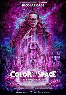 星之彩 Color Out of Space 海報