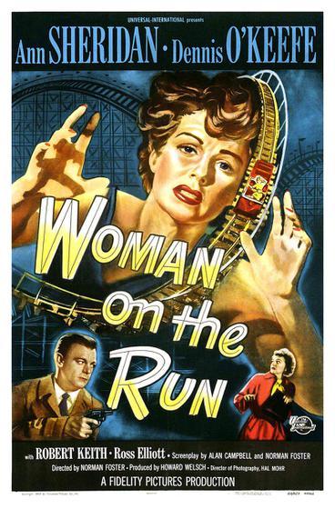 追蹤天涯 Woman on the Run 海報
