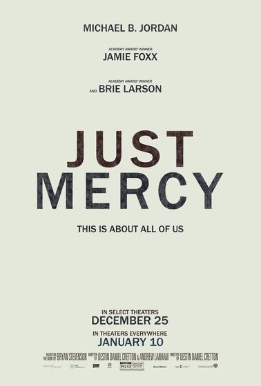 不完美的正義 Just Mercy 海報