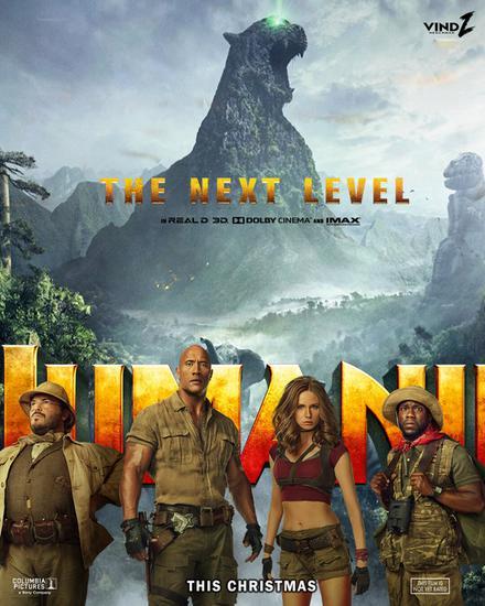 野蠻遊戲:全面晉級 Jumanji: The Next Level 海報