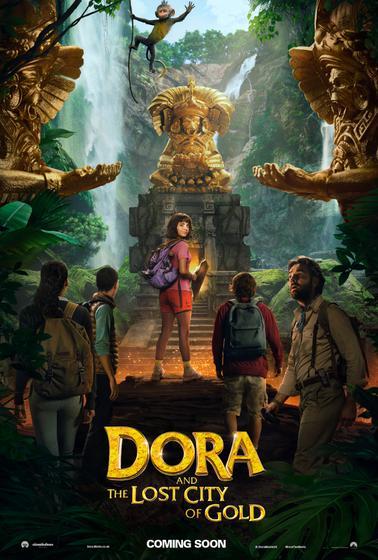 朵拉與失落的黃金城 Dora and the Lost City of Gold 海報