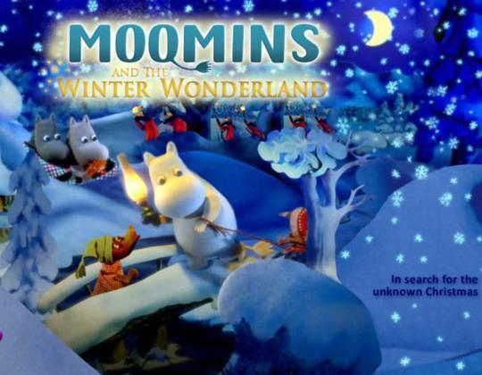 嚕嚕米冬日樂園:自由活潑的童趣
