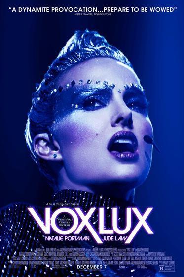 逆光天后 Vox Lux 海報