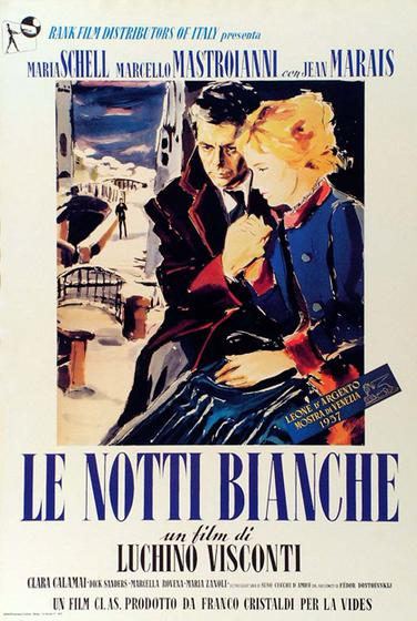 白夜 Le notti bianche 海報